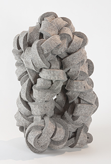 industrial felt,  18 x 11 x 8.5 inches (45.7 x 28 x 21.6 cm)