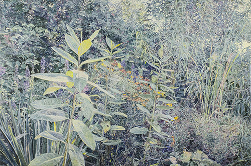 oil on linen,  51 x 77 inches (129.5 x 195.5 cm)