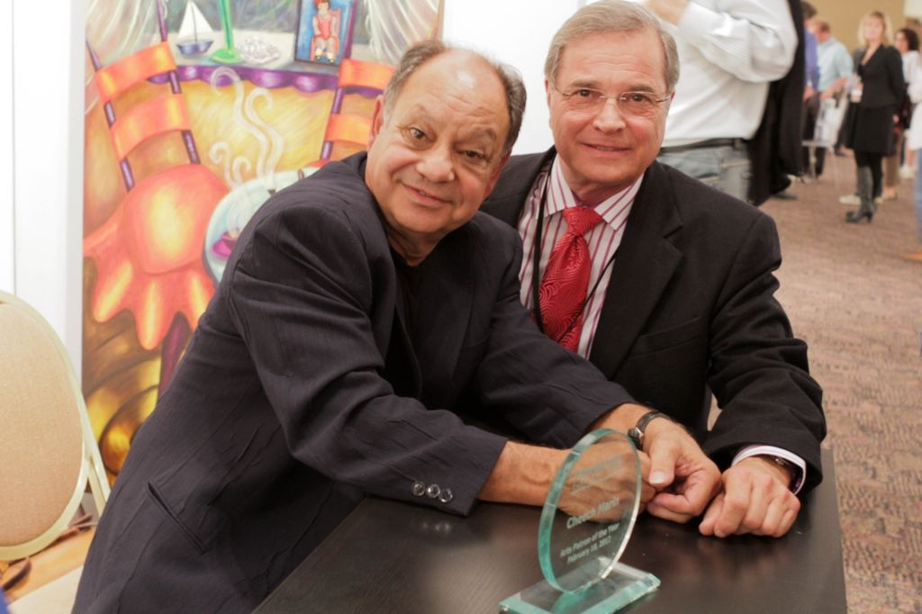 Thomas Paul with Cheech Marin
